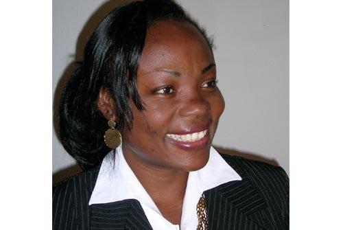 WCIC's præsident advokat Yvelien Ntanfa